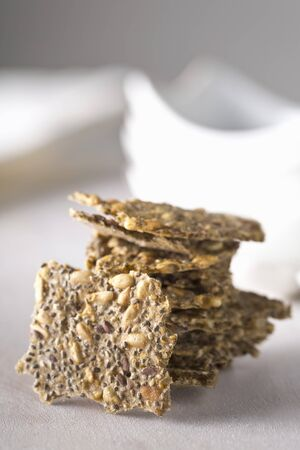 linseed: Crackers with chia seeds, sunflower seeds and linseed LANG_EVOIMAGES
