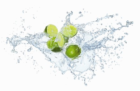 silos: Limes with a splash of water