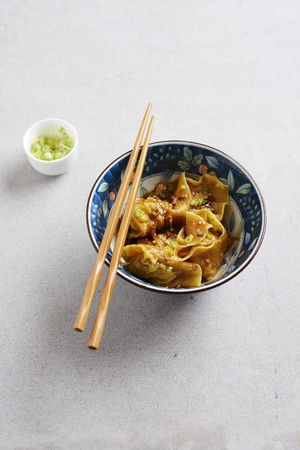 Won Tons in chilli sauce (China)