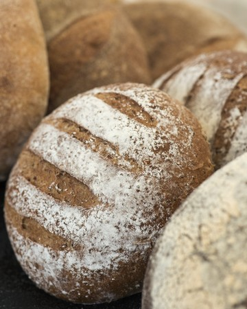 Various types of bread LANG_EVOIMAGES