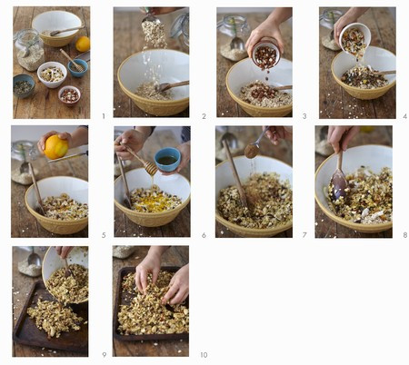 tin: How to make homemade muesli