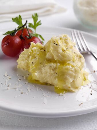 Polenta with cheese