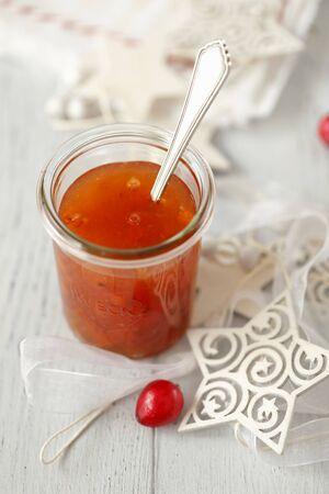 Rowan berry jam for Christmas