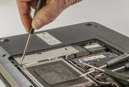 notebook repair photo