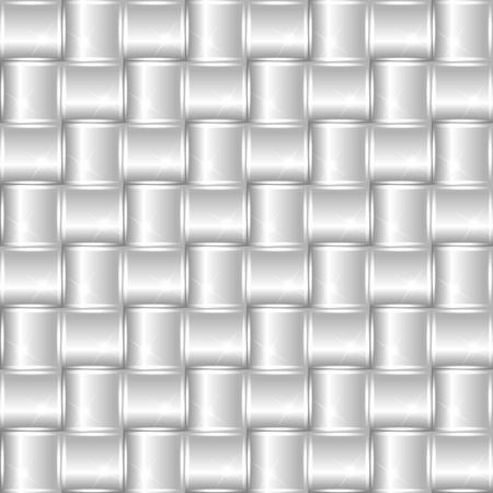 brushed aluminum: Silver metallic or chrome background or texture  vector illustration Illustration