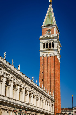St. Marks Square and  in Venice , Italy