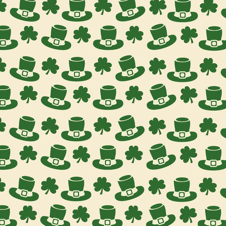 ireland flag: Cool clover Patricks day icon