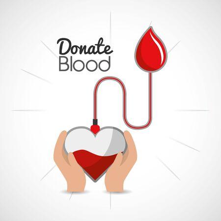 blood donation campaign icon