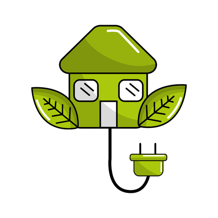 lowering: reduce power cable icon Illustration