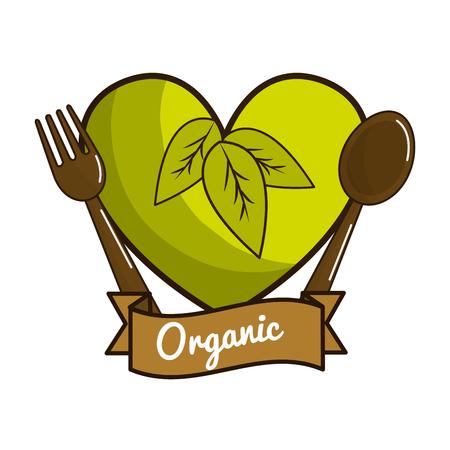 Vegetarian food icon stock Illustration