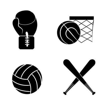 contour diferents plays balls icon