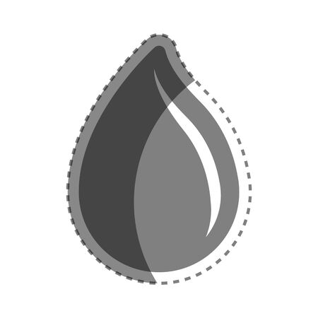 Grayscale drop blood donation transfusion Иллюстрация
