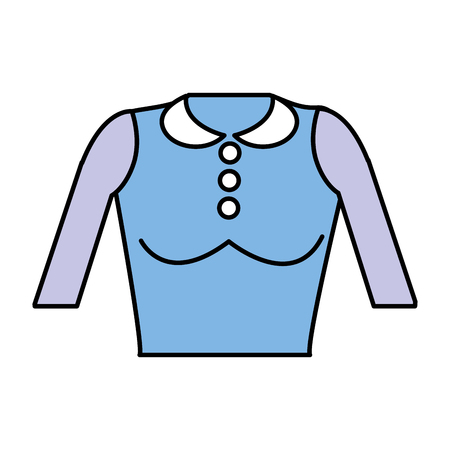 Estilo de paño agradable blusa Foto de archivo - 77228574