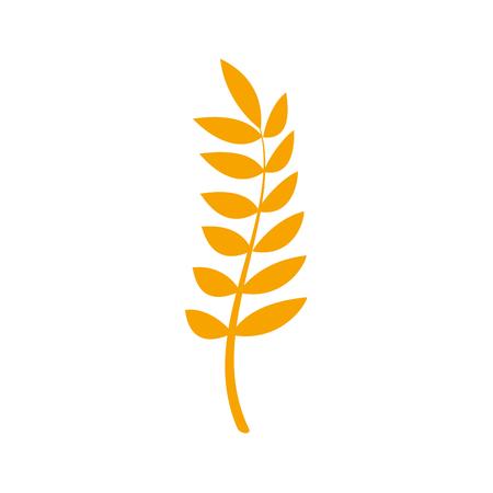 nutritious: Healthy wheat organ plant nutritious. Illustration