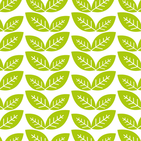 natural green leaves background Ilustrace