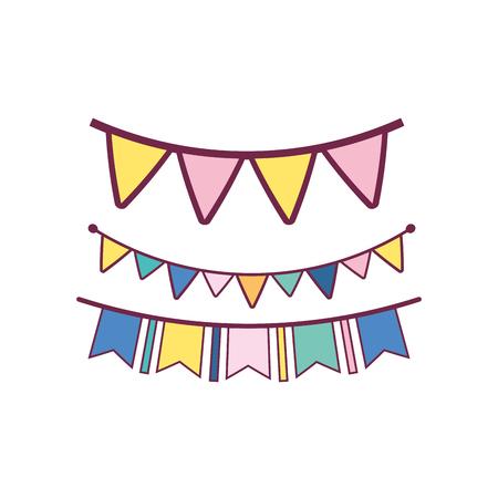 hat party to celebrate happy birthday