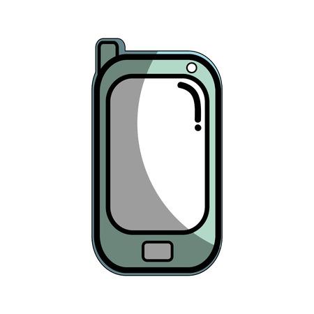 using smart phone: smartphone technology connect transaction network Illustration