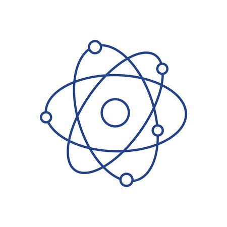 hidrógeno: órbitas geoestacionarias alrededor del círculo Vectores