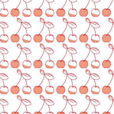 delicious cherry healthy fruit background