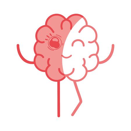icon adorable  brain expression