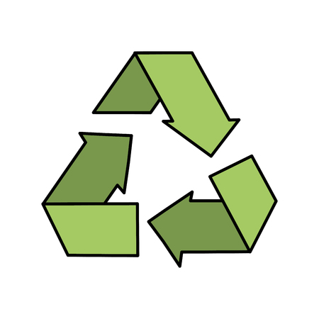 reduce, recycle and reuse environment symbol
