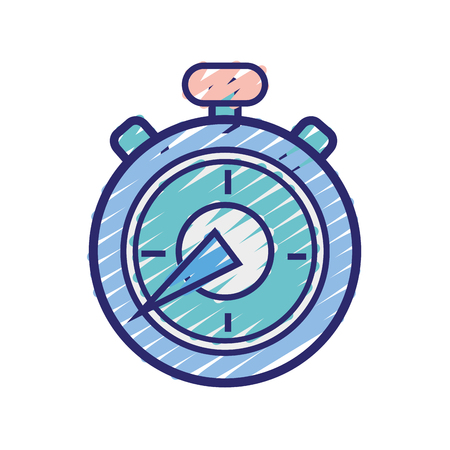 pocket clock to delivery pack at time
