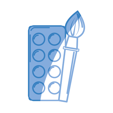 paint tool: paint palette with brush art tool