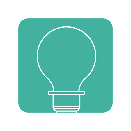 lighted: Label energy light bulb icon