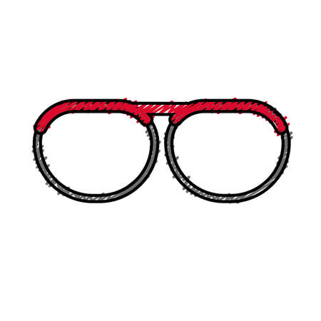 oculist: A nice glasses accessory Illustration