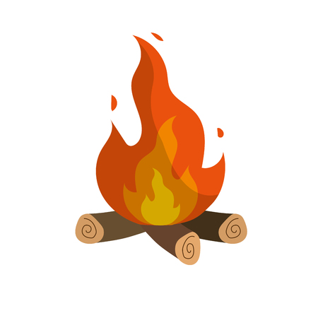 outdoor fireplace: cute firewood to keep warm
