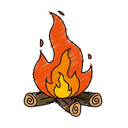 raw materials: cute firewood to keep warm