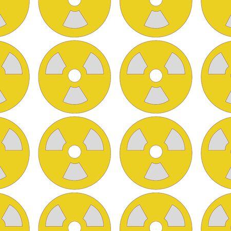 Seamless design of radiation symbol