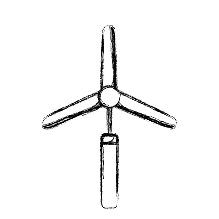 figure industry windpower generator to ecology protection