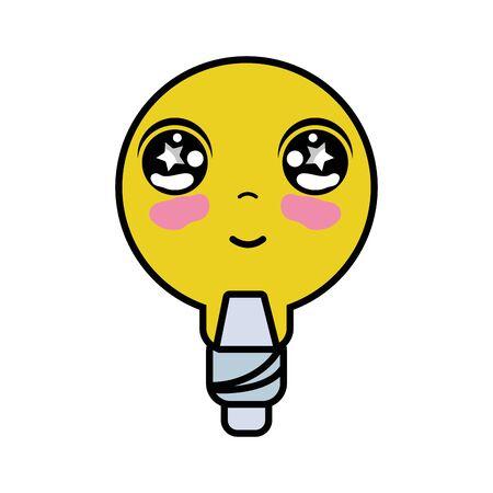 personage: kawaii cute tender bulb energy
