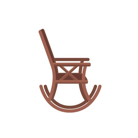 conformity: Comfortable chair to relaxation object icon. Illustration