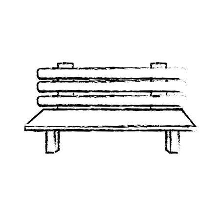 Figure chaise confortable à l'icône de l'objet de relaxation Banque d'images - 80536610
