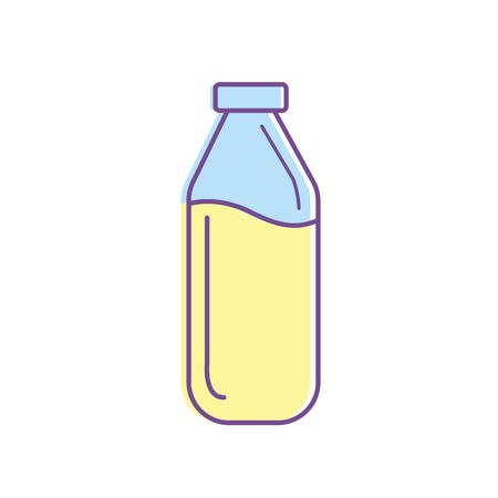delicious and freshment natural juice vector illustration