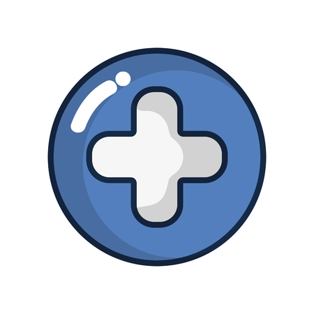 urgency: cross clinic symbol to healthcare people