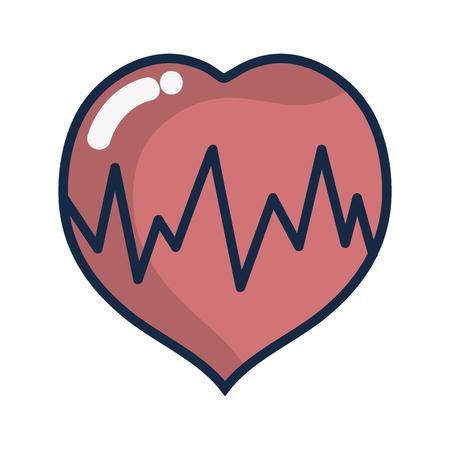 medical heartbeat to cardiac rhythm