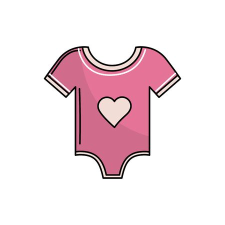 baby girl clothes that used to sleep Illustration