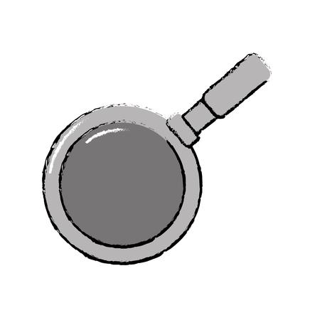 metalic skillet pan kitchen utensil