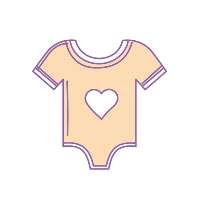 Baby clothes that used to sleep Illustration