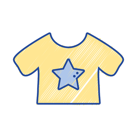 textile care: baby t-shirt and textile clothes