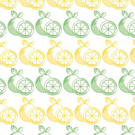delicious lemon healthy fruit background
