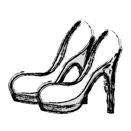 contour fashion heels high shoes