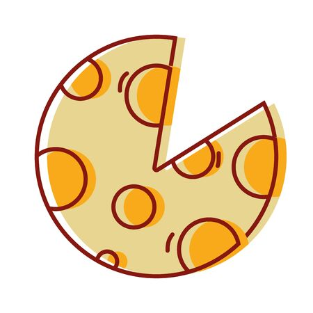 delicious slice of pizza food