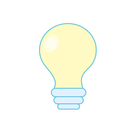 electricity bulb innovation to illuminated of cities vector illustration Illustration