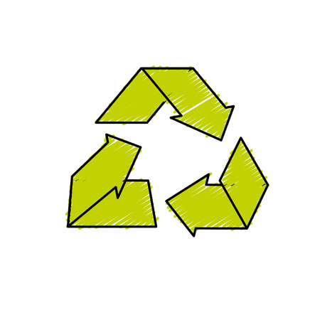 environment care symbol to protection of nature of planet