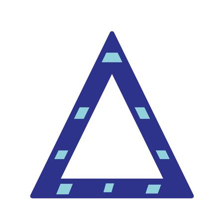 interdiction: triangle symbole d'attention à la précuation de sécurité