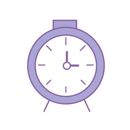 clock design to know the time vector illustration Illustration